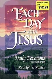 Cover of: Each day with Jesus