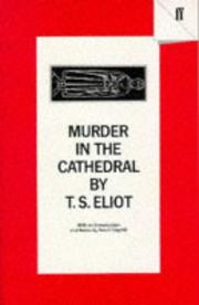 Cover of: Murder in the Cathedral