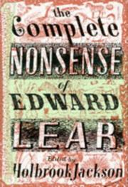 Cover of: The Complete Nonsense