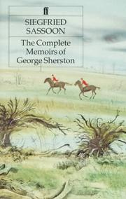 Cover of: The complete memoirs of George Sherston