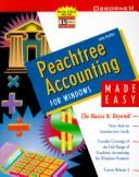 Cover of: Peachtree accounting for Windows made easy
