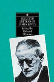 Cover of: Selected letters of James Joyce