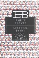 Cover of: Emily Brontë