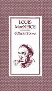 Cover of: The collected poems of Louis MacNeice