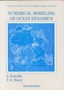 Cover of: Numerical modeling of ocean dynamics