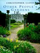 Cover of: Other people's gardens