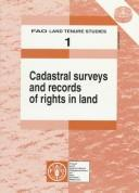 Cover of: Cadastral surveys and records of rights in land