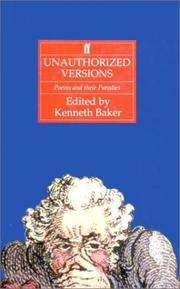 Cover of: Unauthorized versions