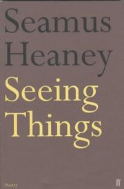 Cover of: Seeing things