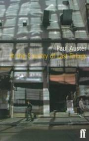 Cover of: In the country of last things