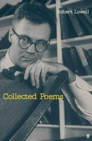Cover of: The Collected Poems of Robert Lowell