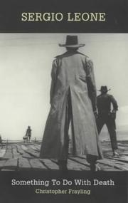 Cover of: Sergio Leone