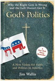 Cover of: God's Politics LP