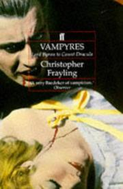 Cover of: Vampyres