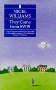 Cover of: They came from SW19