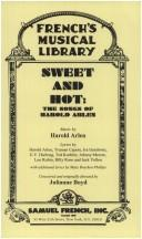 Cover of: Sweet and hot
