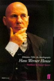 Cover of: Bohemian Fifths Werner Henze