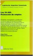 Cover of: Ley 24.465