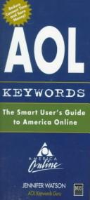 Cover of: AOL keywords