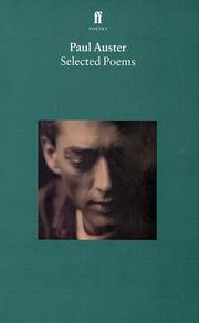 Cover of: Selected Poems (Faber Poetry)