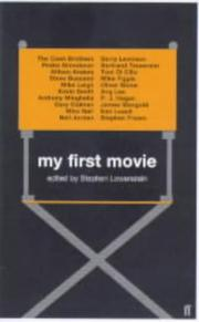 Cover of: My First Movie