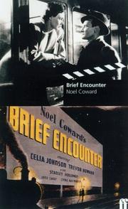 Cover of: Brief encounter: screenplay