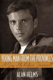 Cover of: Young man from the provinces