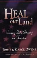 Cover of: Heal our land | Jimmy Owens