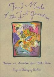 Cover of: Found Meals of the Lost Generation