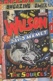Cover of: Wilson: a consideration of the sources