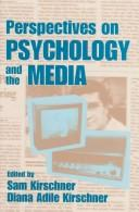Cover of: Perspectives on psychology and the media |