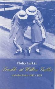 Cover of: Trouble at Willow Gables and other fictions