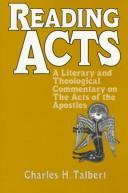 Cover of: Reading Acts | Charles H. Talbert