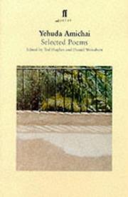 Cover of: Yehuda Amichai (Faber Poetry)