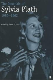 Cover of: The journals of Sylvia Plath, 1950-1962: transcribed from the original manuscripts at Smith College