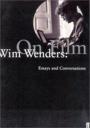 Cover of: Wim Wenders: On Film
