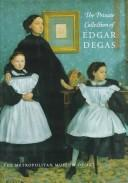 Cover of: The private collection of Edgar Degas |