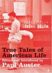 Cover of: True Tales of American Life