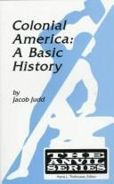 Cover of: Colonial America | Jacob Judd