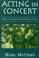 Cover of: Acting in concert