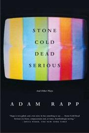 Cover of: Stone cold dead serious, and other plays