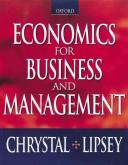 Cover of: Economics for business and management