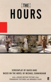 Cover of: The hours: A Screenplay