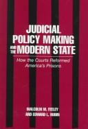 Cover of: Judicial policy making and the modern state