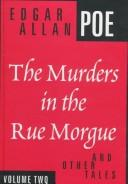 Cover of: The murders in the Rue Morgue and other tales