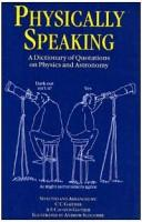 Cover of: Physically speaking |