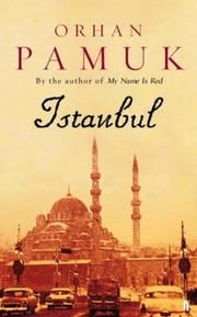 Cover of: Istanbul: memories and the city