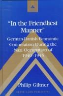 Cover of: In the friendliest manner