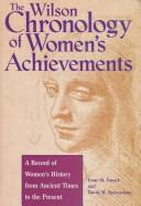 Cover of: The Wilson chronology of women's achievements | Irene M. Franck
