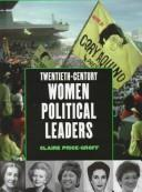 Cover of: Twentieth-century women political leaders